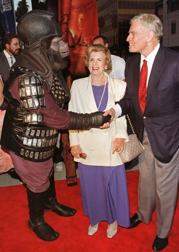 Charlton Heston at the 30th Anniversary Bash